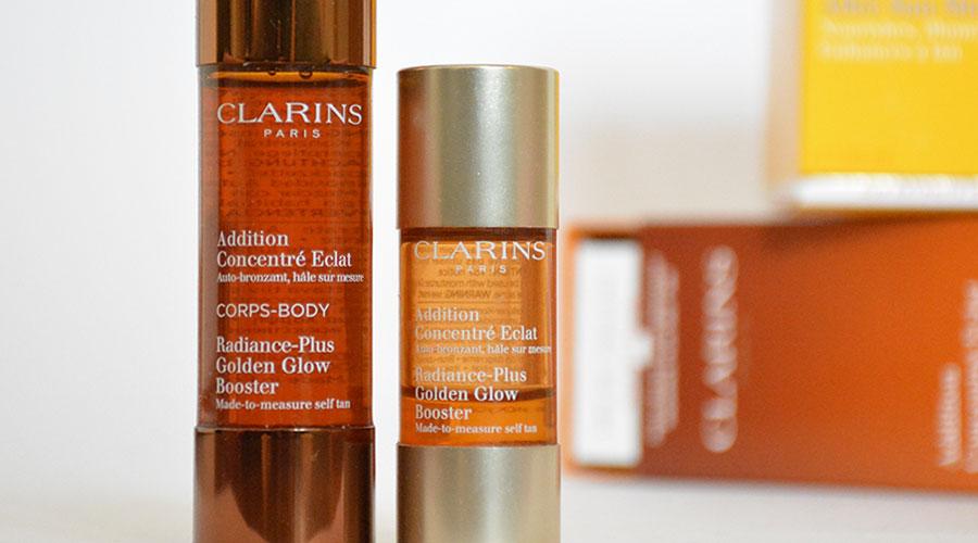 clarins zelfbruiner gezicht review