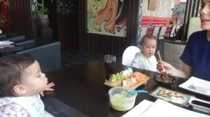 How to: met een baby uit eten