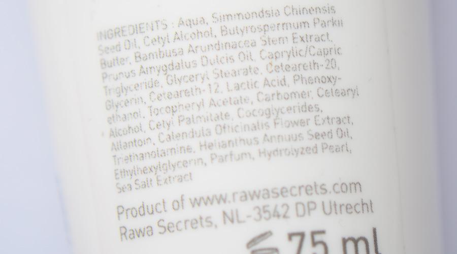 rawasecretsingredientenpeeling